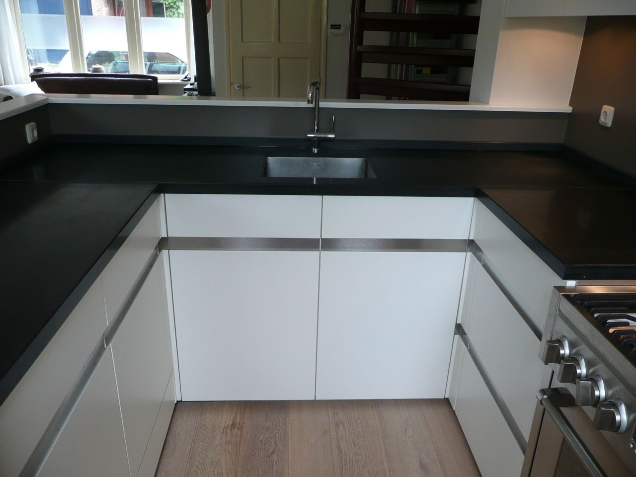 Achterwand Keuken Zonder Bovenkastjes : Rechte Keuken Zonder Bovenkastjes : keukens voor uw appartement twee