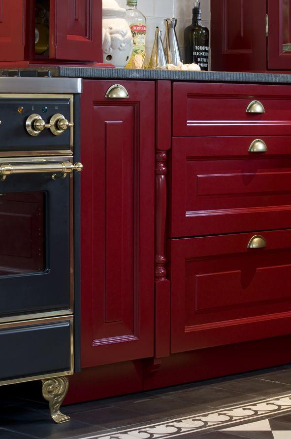 Keuken Bordeaux Rood : moderne zwevende keuken deze moderne zwevende maatwerk keuken